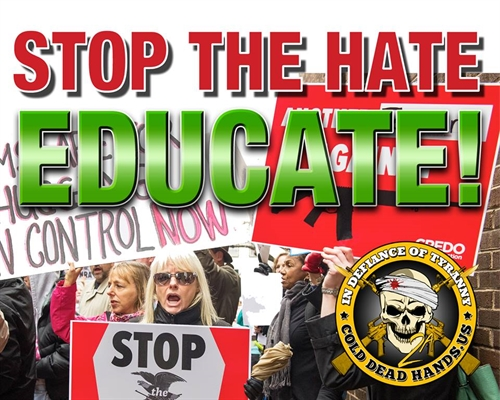 Stop The Hate. Educate