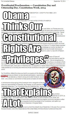 Obama on Rights vs Priviledges